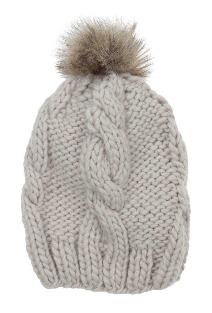 MandS PomPom Beanie Hat